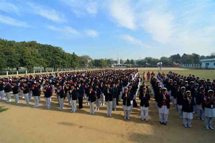 Agra Public School - Morning Assembly