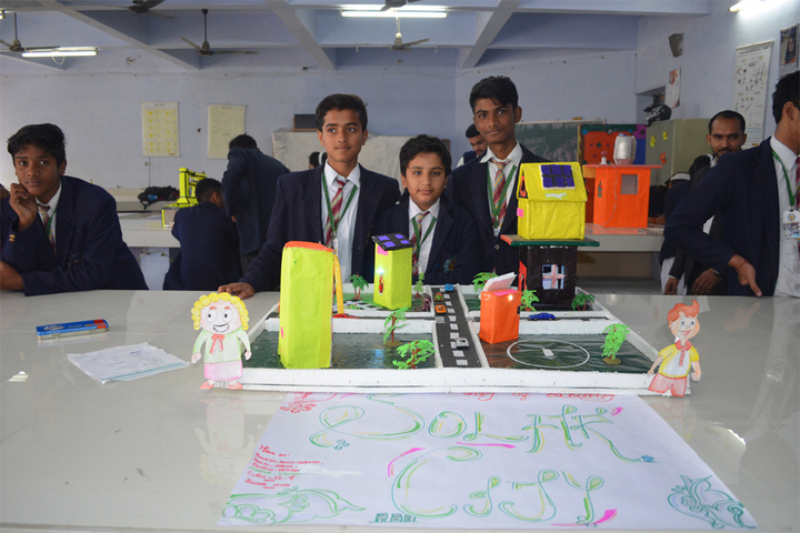 Agra Public School - Science Exhibhition