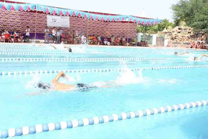 Agra Public School - Swimming Competition