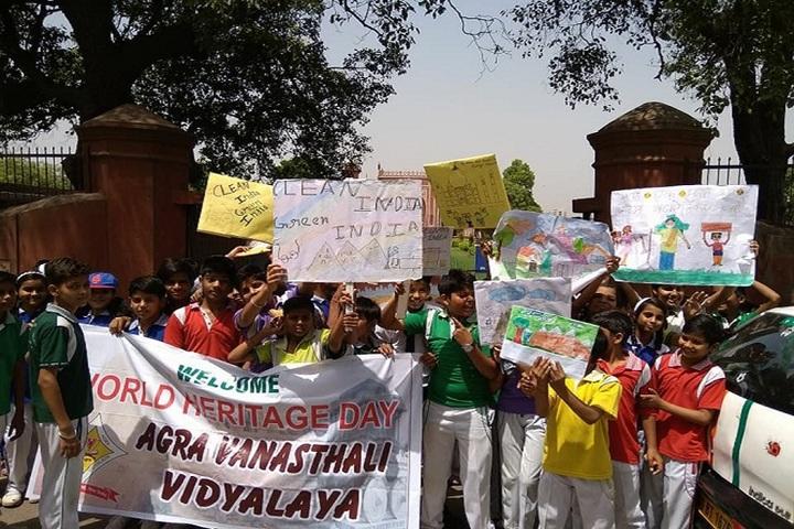 Agra Vanasthali Vidyalaya-Heritage Day