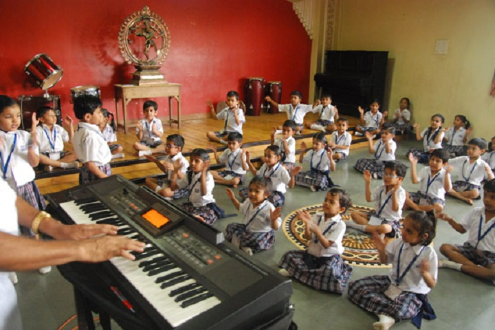 Agra Vanasthali Vidyalaya-Music Room
