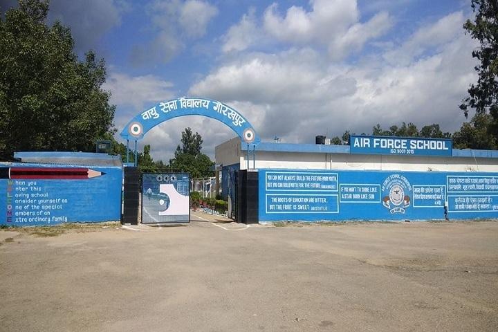 Air Force School - School Entrance