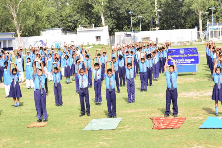 Air Force School - Yoga