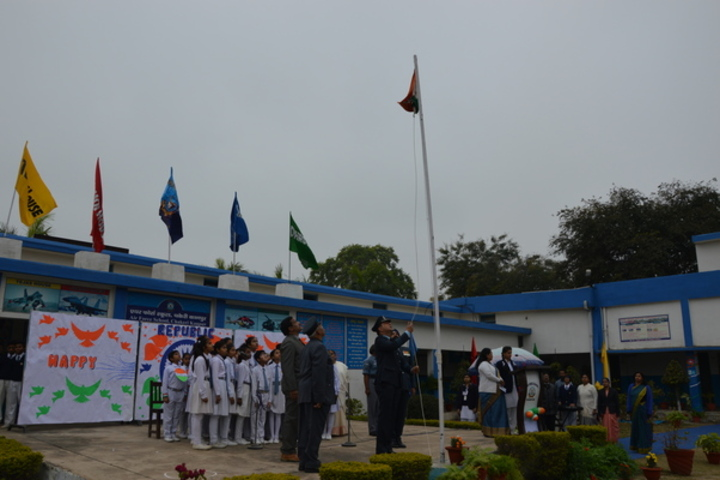 Air Force School-Flag Hosting