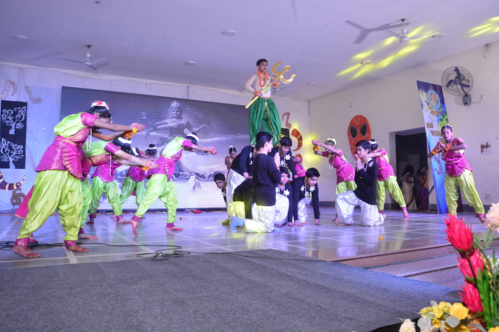 Air Force School-Group Dance Performance