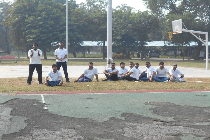 Air Force School-Volley Ball Court