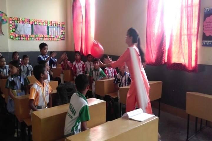 Ajmani International School - Classroom Activity