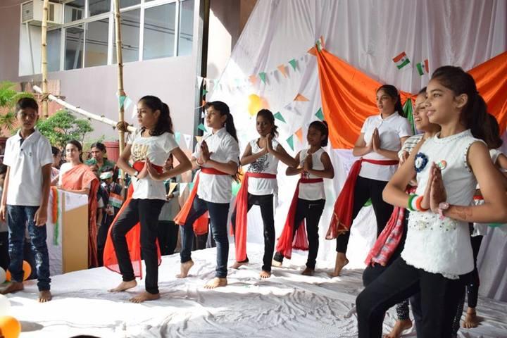 Ajmani International School -Group Dance Activity