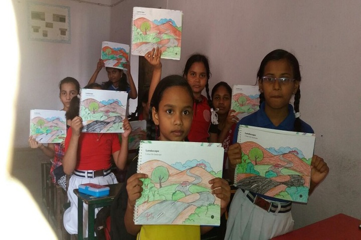 S N Memorial International School-Drawing