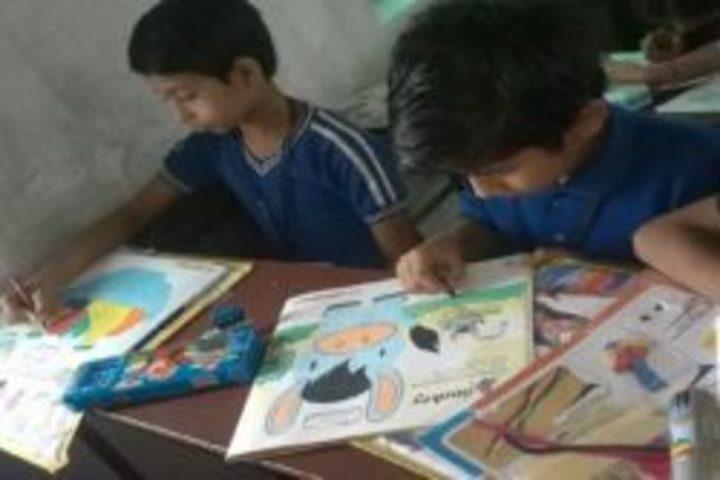 S N Memorial International School-Painting