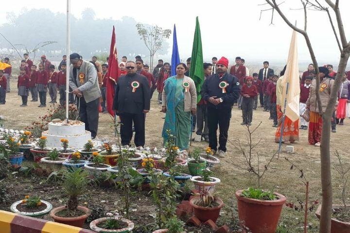 Akshar Jyothi Public School - Flag Hosting