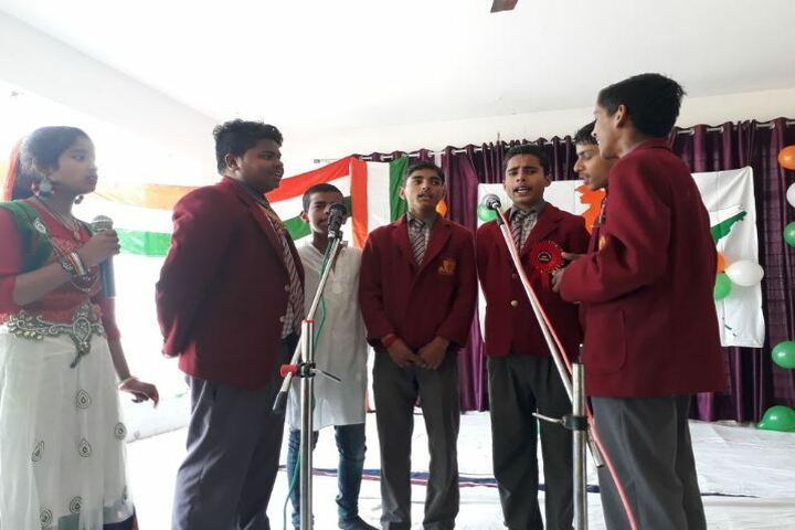Akshar Jyothi Public School - Group Song Activity