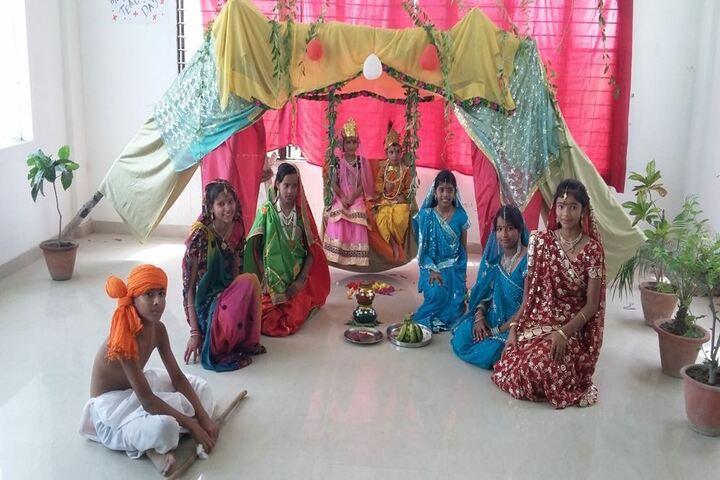 Akshar Jyothi Public School - Krishnastami Celebrations