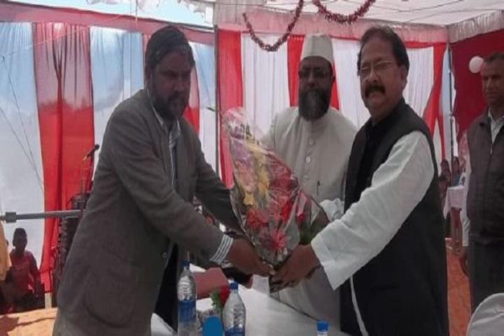 Al Farooq Public School -  Greeting Ceremony