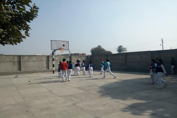 Al-Hira Public School-Basketball Court