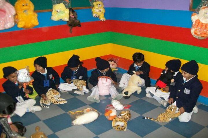 Al-Hira Public School-Kindergarden Playarea