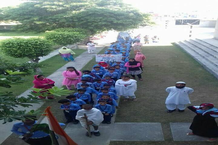 Al-Hira Public School-Rally