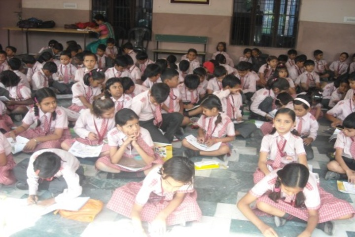 Alakananda Academic School - Drwaing And Rangoli Competition