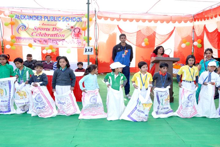 Alexander Public School -Sports Day Celebrations