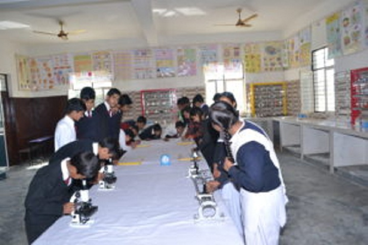 Alingua Public School - Science Lab
