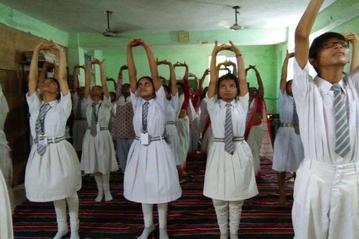 S R Vidyapeeth-Yoga Day