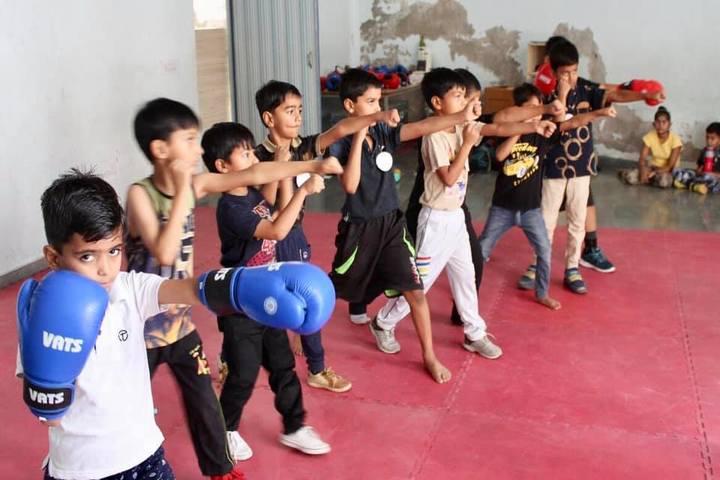 All Saints School-Kick Boxing