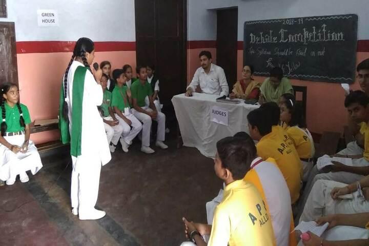 Allahabad Public School - Debate Competition