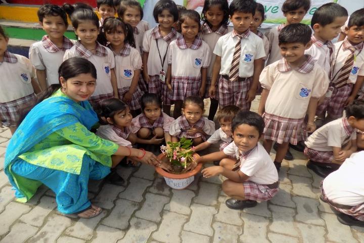 Allahabad Public School - Tree Plantation