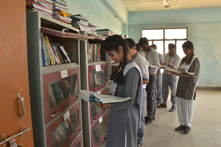 Allahabad Public School College - Library