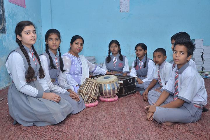 Allahabad Public School College - Music Lab