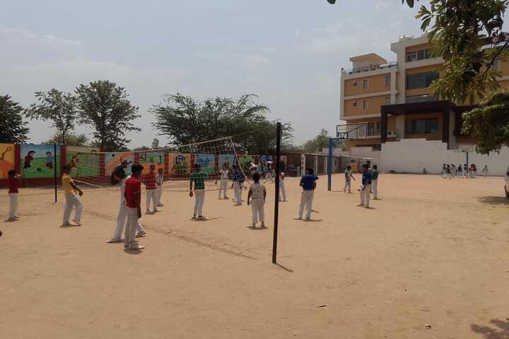 Allahabad Public School College - School ground