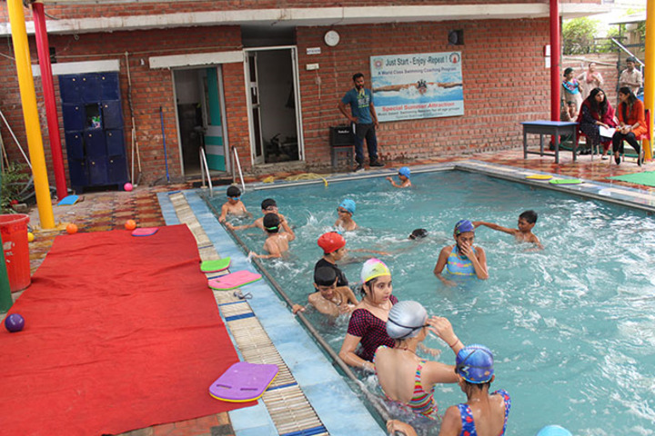 Allen House Public School - Pool Activity