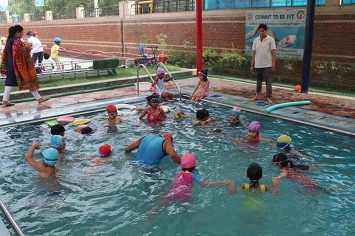 Allen House Public School - Swimming pool