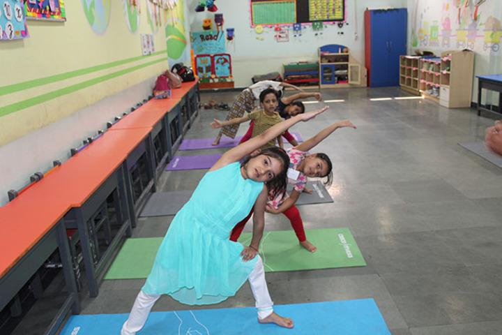 Allen House Public School - Yoga Activity
