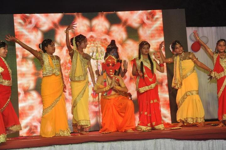 Alma Mater The School - Ganesh Chaturthi Celebrations