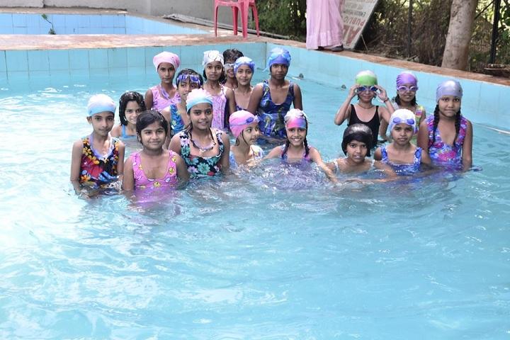 Alpha Public College-Swimming Activity