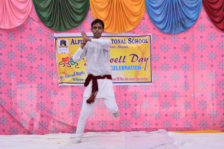 Alphine International School - Dance On Farewell Day