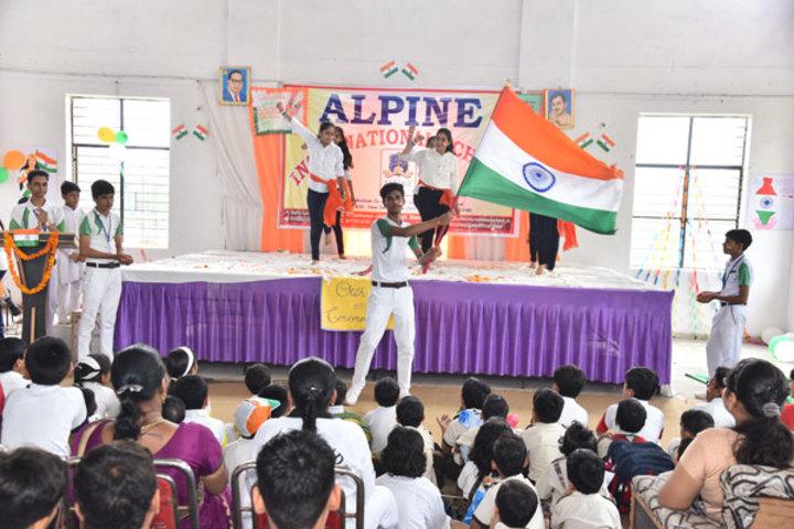 Alphine International School - Republic Day
