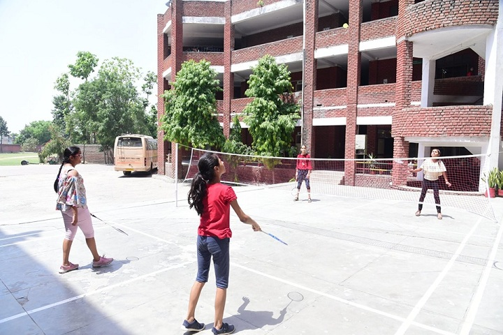 ALPINE PUBLIC SCHOOL-Badminton Court