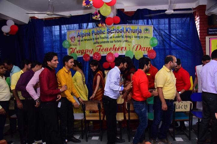 ALPINE PUBLIC SCHOOL-Teachers Day Celebration