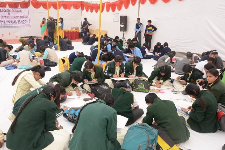 ALPINE PUBLIC SCHOOL-Drawing Competition
