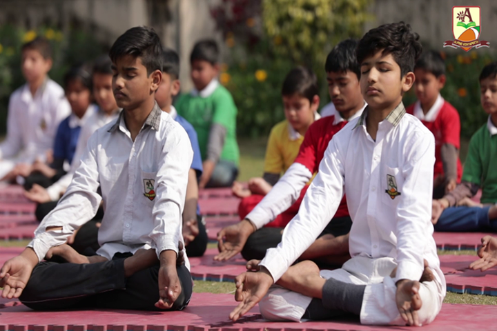 Alphine Vidyapeeth  - Yoga Activity