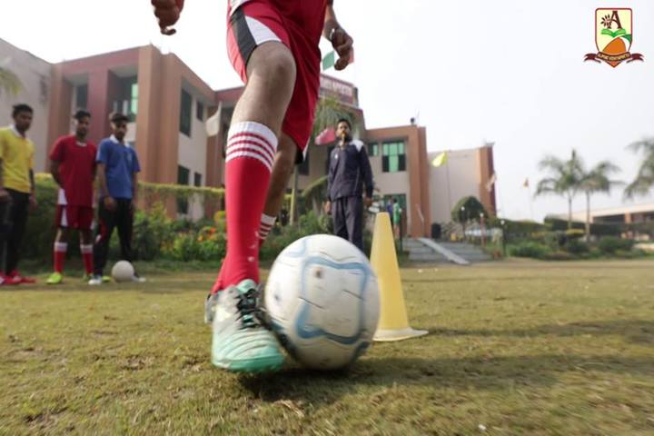 Alphine Vidyapeeth - Foot Ball Activity