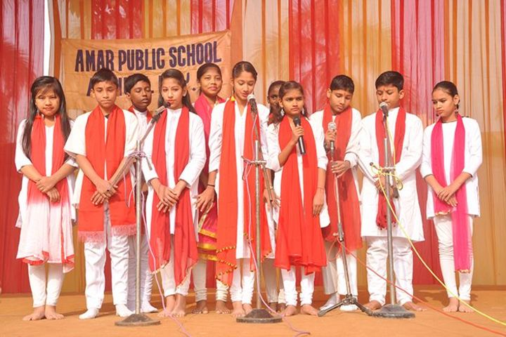 Amar Public School - Group Song Performance