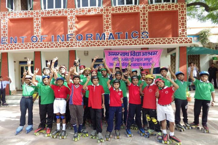 Amarnath Vidya Ashram Senior Secondary School - Roller Skating Champions