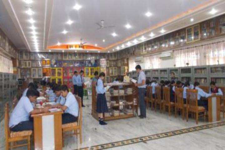 Amarnath Vidya Ashram Senior Secondary School-Library