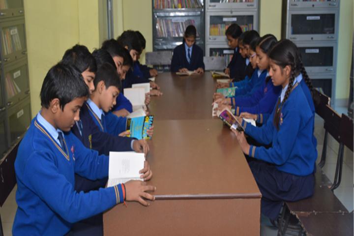 Ambika Prasad Memorial Public School - Library