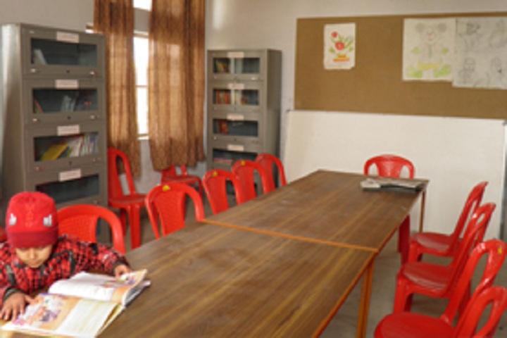 Ambika Public School - Library