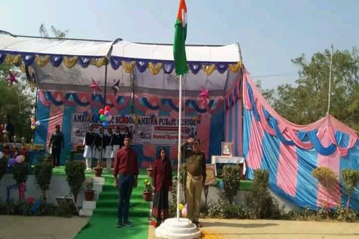 Ambika Public School - Republic Day Celebrations