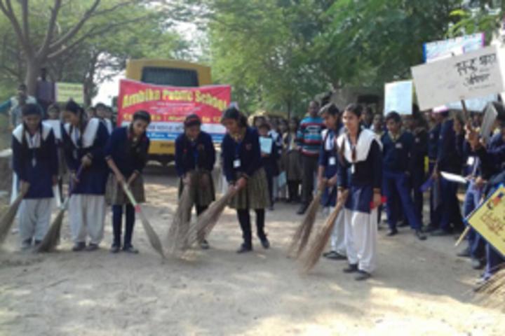 Ambika Public School - Swach Bharat